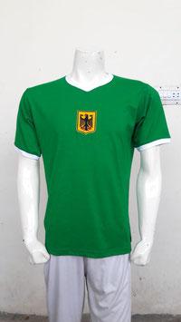 Deutschland Retro Shirt Grün