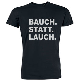Bauch statt Lauch Shirt Schwarz