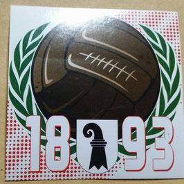 150 Basel AGM Ball 1893 Aufkleber