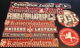 Kaiserslautern Szeneklebermix 6817 Grosse Aufkleber