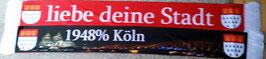 Köln Liebe deine Stadt Seidenschal