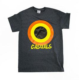 Casuals Gelber Kreis Shirt
