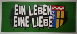 Mönchengladbach Ein Leben Eine Liebe Aufkleber