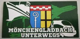 Gladbach unterwegs Aufkleber
