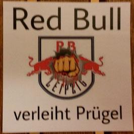 150 Red Bull verleiht Prügel Aufkleber (Faust 6x6)