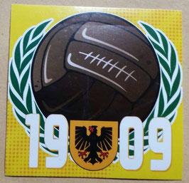 150 Dortmund AGM Ball 1909 Aufkleber