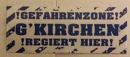 150 Gelsenkirchen Gefahrenzone Aufkleber