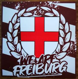 150 We are Freiburg Aufkleber