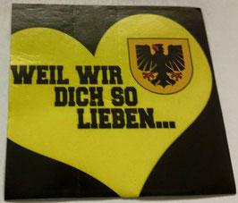 150 Dortmund weil wir dich so lieben Aufkleber