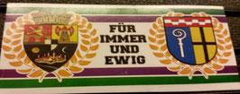150 Gladbach Poli für immer und ewig Aufkleber