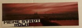150 Köln Meine Stadt Neu Aufkleber