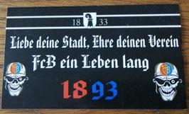 Basel Liebe deine Stadt Ehre deinen Verein Aufkleber