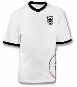 Deutschland Retro Shirt weiss