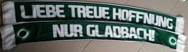 Mönchengladbach Liebe Treue Hoffnung Seidenschal