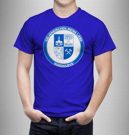 Gelsenkirchen Meine Liebe Rund Shirt Blau