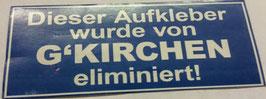 150 Gelsenkirchen eliminiert Aufkleber