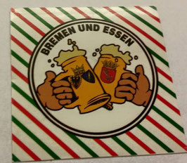 150 Bremen Essen Freundschaft Bier Aufkleber