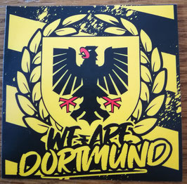 150 We are Dortmund Aufkleber