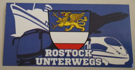Rostock unterwegs Aufkleber