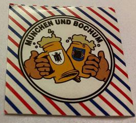 150 München Bochum Freundschaft Bier Aufkleber