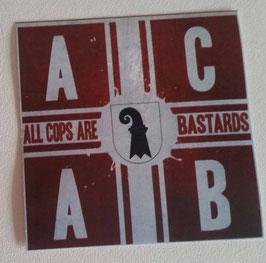 150 Basel ACAB Rot Aufkleber