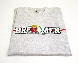 Bremen länglich Shirt Grau