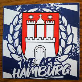 150 We are Hamburg Aufkleber