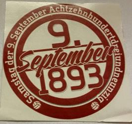 150 Stuttgart Birthday Aufkleber
