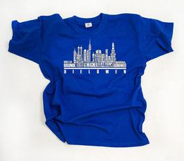 München Blau Helden Skyline Shirt Blau