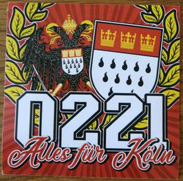 Köln 0221 alles für Kölle Aufkleber