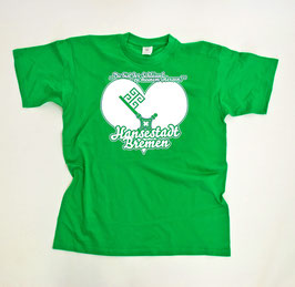 Bremen Schlüssel Shirt Grün