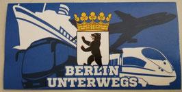 Berlin unterwegs Aufkleber