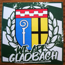 150 We are Gladbach Aufkleber