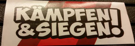 150 Köln kämpfen und siegen Aufkleber