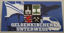 Gelsenkirchen unterwegs Aufkleber