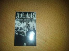 200 ACAB Grau Aufkleber