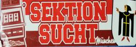 München Sektion Sucht Aufkleber