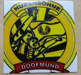 150 Doofmund Hurensöhne 6x6 Aufkleber