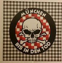 150 München bis in den Tod rund Aufkleber