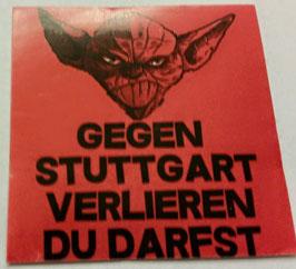 150 Stuttgart Yoda verlieren du darfst Aufkleber