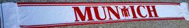 Munich weiss rot Seidenschal