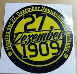 150 Dortmund Birthday Aufkleber