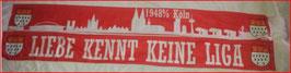 Köln Liebe kennt keine Liga seidenschal