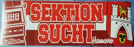 Hannover Sektion Sucht Aufkleber