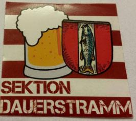 150 Kaiserslautern Sektion Dauerstramm Aufkleber