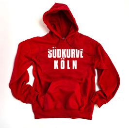 Köln Südkurve Hoodie Rot