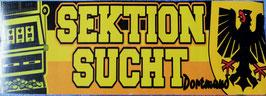 Dortmund Sektion Sucht Aufkleber