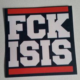 Fuck Isis Aufkleber