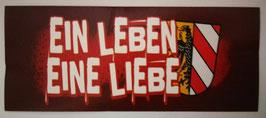 Nürnberg Ein Leben Eine Liebe Aufkleber