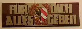 150 Nürnberg alles geben Aufkleber